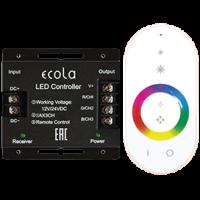 Контроллер LED strip RGB RF бел.сенсор.радиопульт 24A 288W 12V (576W 24V) (RFC24WESB)