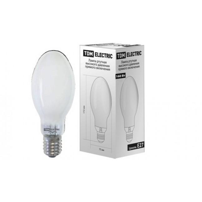 Эл.лампа ДРВ 160 W E27 TDM (б/дросс), лампочка