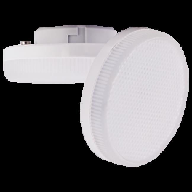 Лампа светодиод.GX53 LED 12W 220V 4200К мат.стекло 27*75(T5UV12ELC) Premium, лампочка