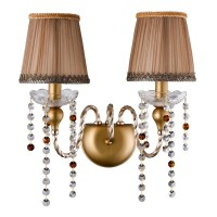 ALEGRIA AP2 GOLD-BROWN (CRYSTAL LUX) Бра