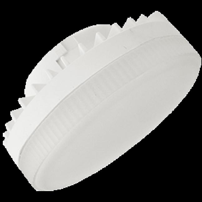Лампа светодиод.GX53 LED 10W 220V 4200К мат.стекло 27*75(T5QV10ELC,T5UV10ELC), лампочка