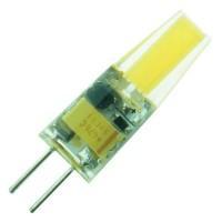 Лампа светодиод. LED 3W G4 220v 4200K  210lm (10*32), лампочка