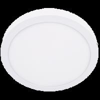Светильник светод. 24W 4200K накладной, круглый, белый Экола (DRSV24ELC)