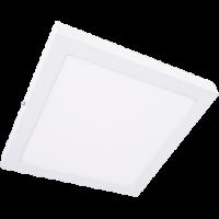 Светильник светод. 24W 4200K накладной, квадратный, белый Экола (DSSV24ELC)
