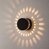 TECHNO LED 1585 4W 3000K светильник садово-парковый IP54 черный