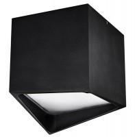 214477 Светильник Lightstar Quadro LED 12W 4000K черный IP55