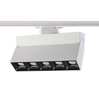 357841 NT18 000 белый/чёрный Трековый светодиодный светильник IP33 LED 25W 110-265V EOS