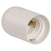 Патрон Е27 гладкий белый(комплект) Ппл27-04-К02 ИЭК