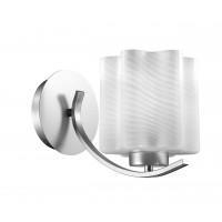 SL117.501.01 Бра ST-Luce Серебристый/Белый с полосками E27 1*60W