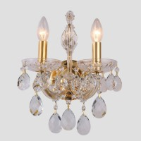 ISABEL AP2 GOLD/TRANSPARENT (CRYSTAL LUX) Люстра