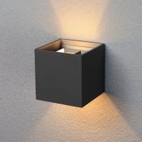 1548 TECHNO LED 6W 3000K светильник садово-парковый IP54 черный