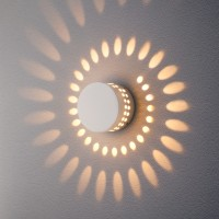 1585 TECHNO LED 4W 3000K светильник садово-парковый IP54 ARKADA белый