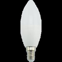 Лампа светодиод.candle LED 9,0W 220V E14 4000К 100*37 свеча(C4MV90ELC) Premium, лампочка