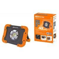 Фонарь-прожектор ФП8 переносной,LED, 10W (Аккум) USB, ТДМ