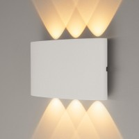 1551 TECHNO LED 6W 3000K светильник садово-парковый IP54 TWINKY TRIO белый