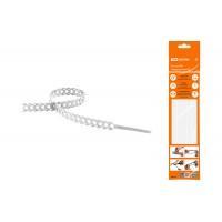 Стяжки RS 10*300 полиуретан.многозвенные белые TDM