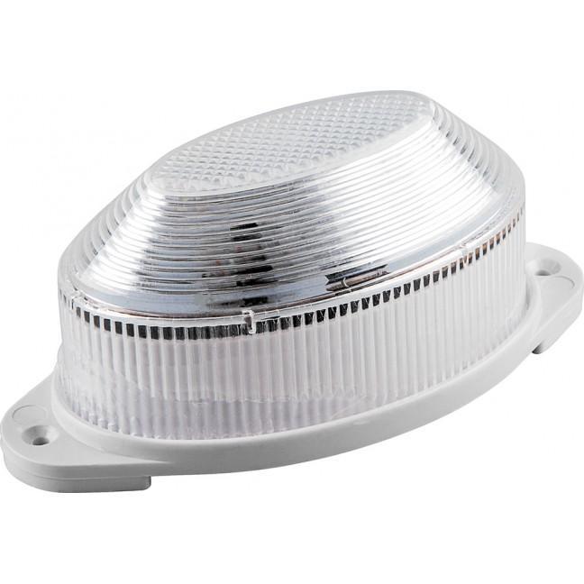 Лампа-вспышка строб.LED 1.3W прозрачная (накл.), лампочка