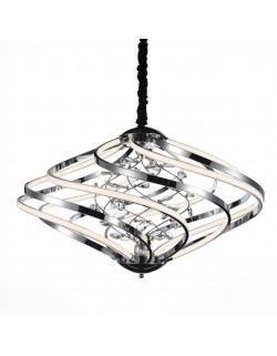 SL924.103.08 Люстра подвесная хром/прозрачный /белый  Led 1*46W ST-Luce