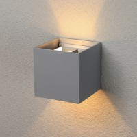 1548 TECHNO LED 6W 3000K светильник садово-парковый IP54 WINNER серый