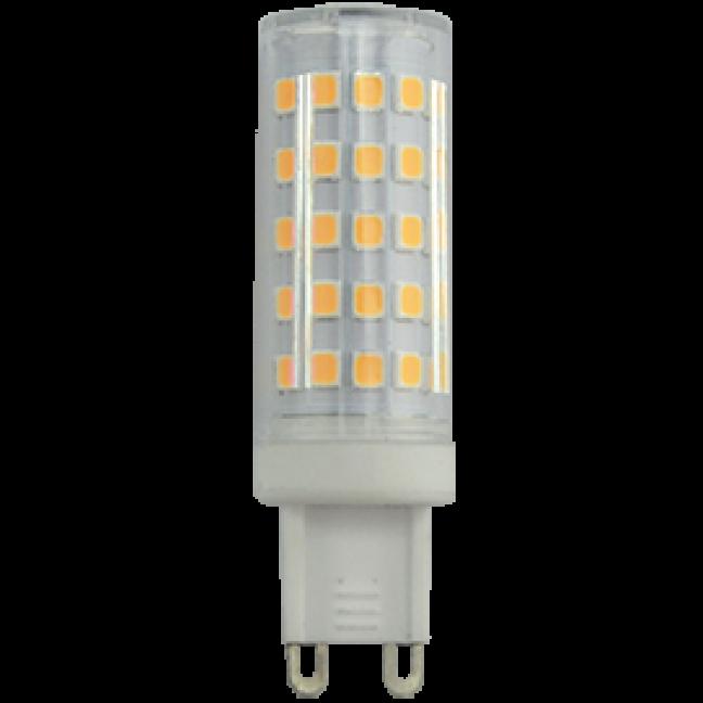 Лампа светодиод.G9 Corn Micro LED 7,0W 220v 4200K 60*16 (G9QV70ELC) Premium, лампочка