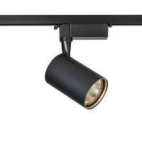 TR003-1-12W3K-B Трековый светильник черный, LED