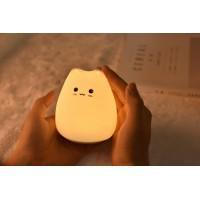 TL-903M (Кот, настольный ночник, силиконовый с RGB-подсветкой, средний, 1 Вт)