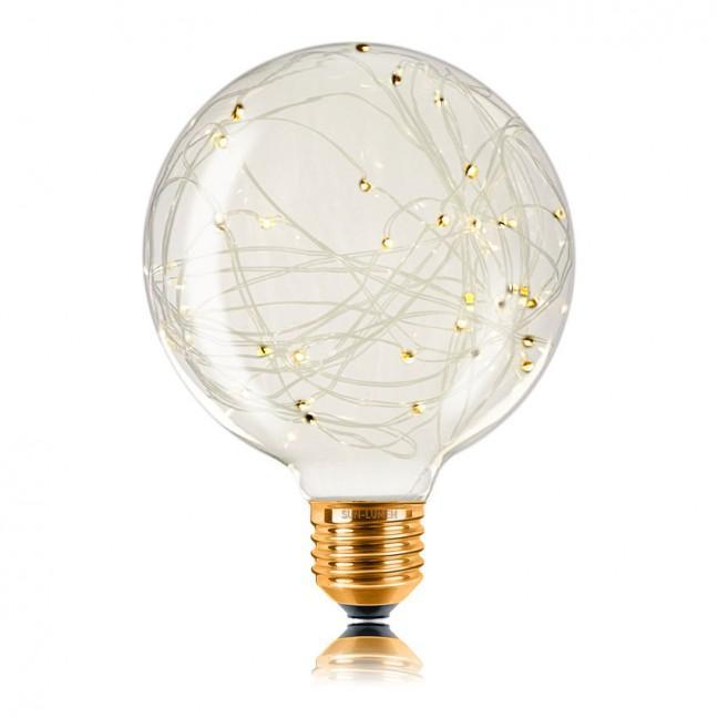 Лампа декоративная G95 LED STARRY 1,5W 230V E27 2200К (057066), лампочка