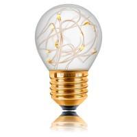 Лампа светодиод.globe G45 LED 1W 230V E27 2700К (057226), лампочка