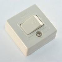 Anam Legrand Alpex Выключатель 1-клавишный накладной