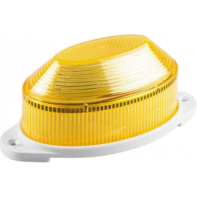 Лампа-вспышка строб.LED 1.3W желтая (накл.), лампочка
