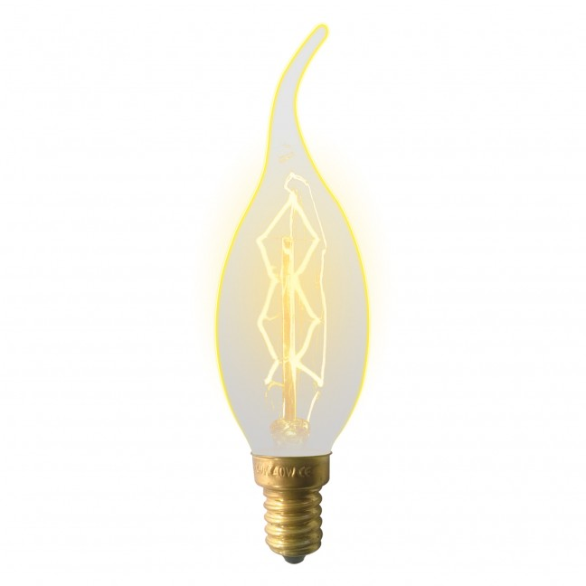 Лампа декор.свеча на ветру Е14 60вт CW35/Golden/ZW01/Vintage, лампочка