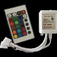 Контроллер LED strip RGB IR с пультом 144Вт 12V 12A (CRS144ESB)