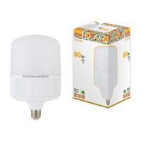 Лампа светодиод.T80 80W 230V E27 4000K Народная TDM, лампочка