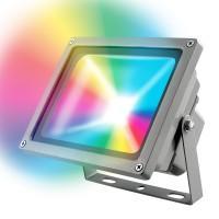 Прожектор светодиодный ULF-S01-30W/RGB/RC IP65