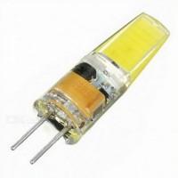 Лампа светодиод. LED 3W G4 220v 2700K  210lm (10*32), лампочка