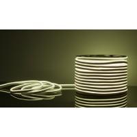 Гибкий неон LS001 белый 9,6W 220V IP67 120Led 2835 односторонний(50м), LED лента