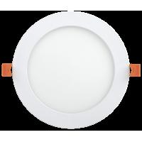 Светильник светодиод. Downl ДВО 1608 18W 6500К(1260Im)белый.круг (225*23)IP20 IEK
