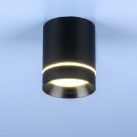 Светильник светодиод.DLR021 9W 4200К черный матовый d=79mm h=100mm Спот