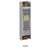 Блок питания 100W  Uвых.=12V,Uвх.=220V IP20 (182*46*30) Profile