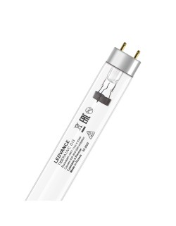Эл.лампа LEDVANCE TIBERA 30W G13 бактериц.(UVC 253,7nm)без озона, лампочка