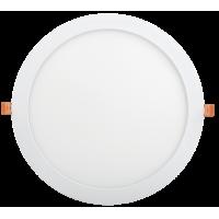 Светильник светодиод.Downl.ДВО 1610 24W 6500К(1500Im)белый.круг (295*25)IP20 IEK