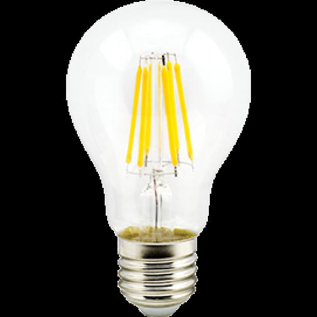 Лампа светодиод.classic А60 LED 10W 220V E27 4000К 360гр филамент прозр 105*60(N7LV10ELC) Premium, лампочка