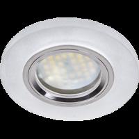 Светильник MR16 DL1650 GU5.3 Экола Glass круг матовое/хром 25*95 (FN1650EFF)
