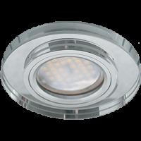 Светильник MR16 DL1650 GU5.3 Экола Glass круг хром/хром 25*95 (FC1650EFF)