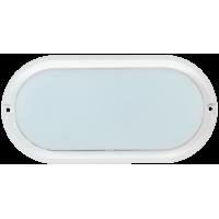 Светильник ДПО 4012 белый овал LED 12Вт 4000K 800Lm IP54 ИЭК