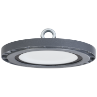 Светильник LED промыш.ДСП 5015  200W  20000lm 110град.(d365*53,5/98) 4000K IP65 ИЭК