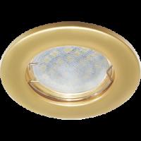 Светильник MR16 DL90 Экола встр.плоский перламутровое золото 30*80 (FN1611EFY)
