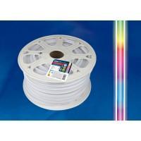 Гибкий неон ULS-N22  RGB  10W 220V IP67 80Led 5050 односторонний(50м), LED лента