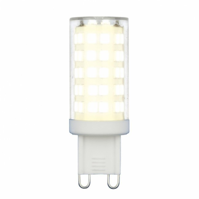 Лампа светодиод.JCD-G9 9W 220v 4000K 720lm 18*54 GLZ09TR, лампочка