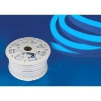 Гибкий неон ULS-N21 синий 8W  220V IP67 120Led 2835 односторонний(50м), LED лента